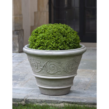 Kinsey Garden Decor Rolled Arabesque Planter