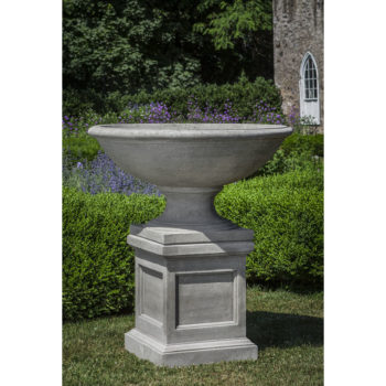 Beauport Low Extra Large Urn Planter On Pedestal
