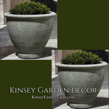 Kinsey Garden Decor Planter Berkeley Medium set
