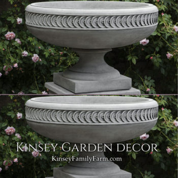 Kinsey Garden Decor Planter Chatham Urn