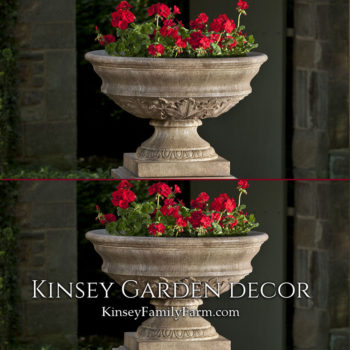 Kinsey Garden Decor Planter Coachhouse Urn