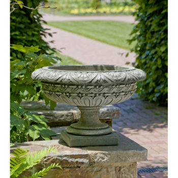 Rustic Palazzo Urn Cast Stone Planters Kinsey Garden Decor