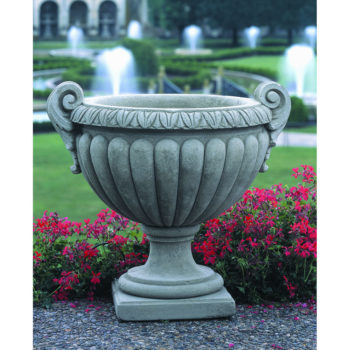 Kinsey Garden Decor Volute Handle Urn