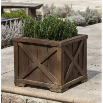Kinsey Garden Decor Rustic Versaille Planter
