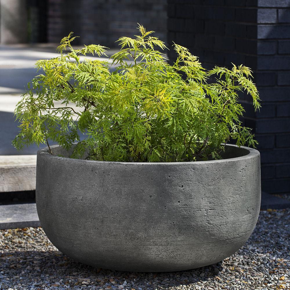 Echo Park Fountain Bowl Cone Planters Set Kinsey