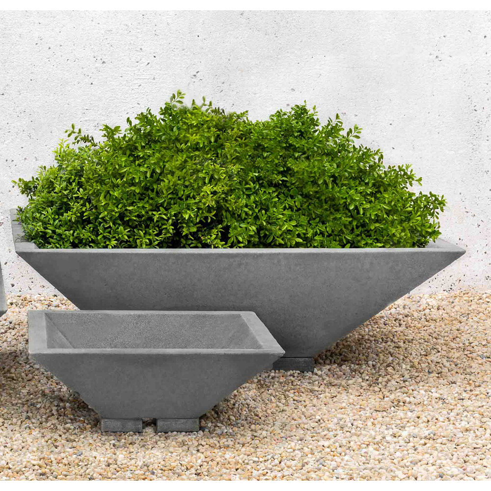 Square Zen Bowl Extra Large Garden Planter Kinsey Garden Decor