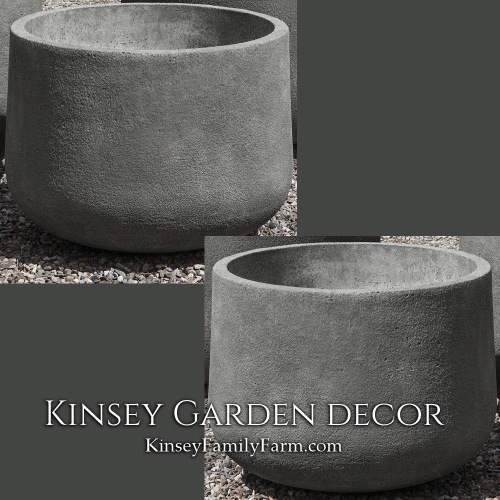 Cast Stone Tribeca Planter Small Kinsey Garden Decor
