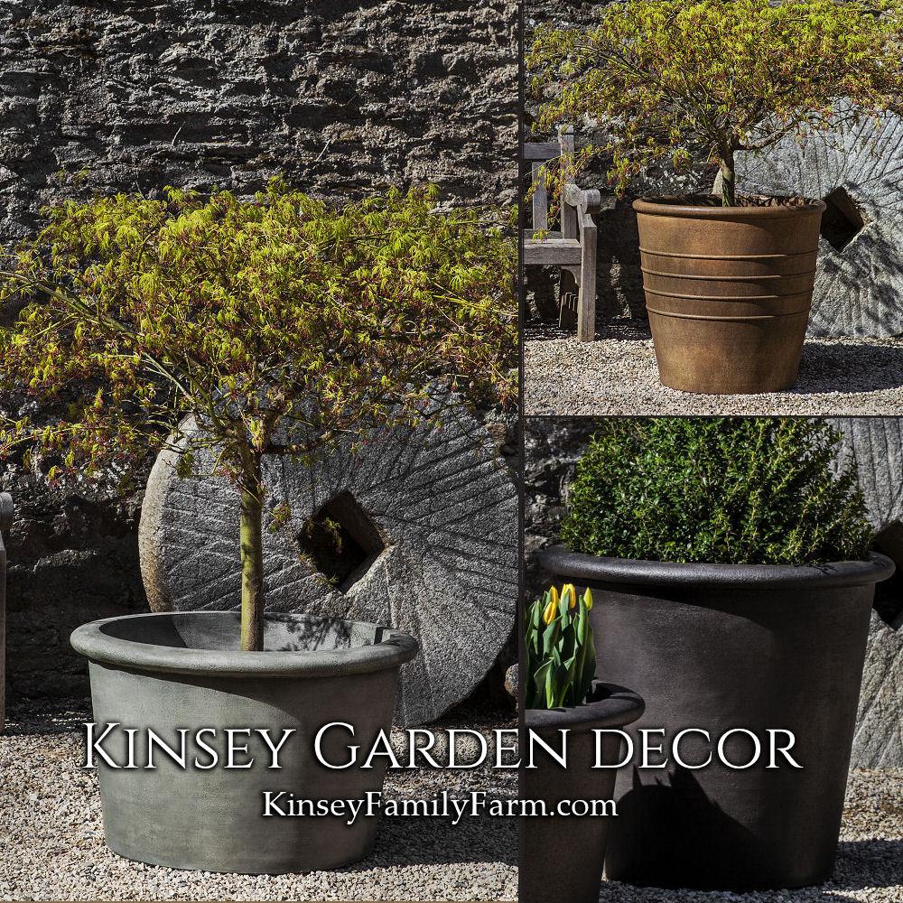Palo Alto Mill Valley Large Planters Set Kinsey Garden Decor