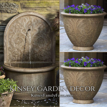 Kinsey Garden Decor Arabesque corsini planters set