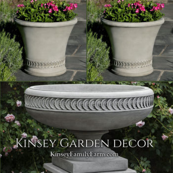 Kinsey Garden Decor Chatham urn planters set