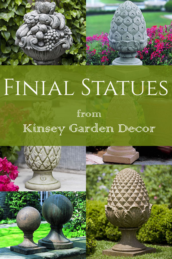 Kinsey Garden Decor Finial Statues