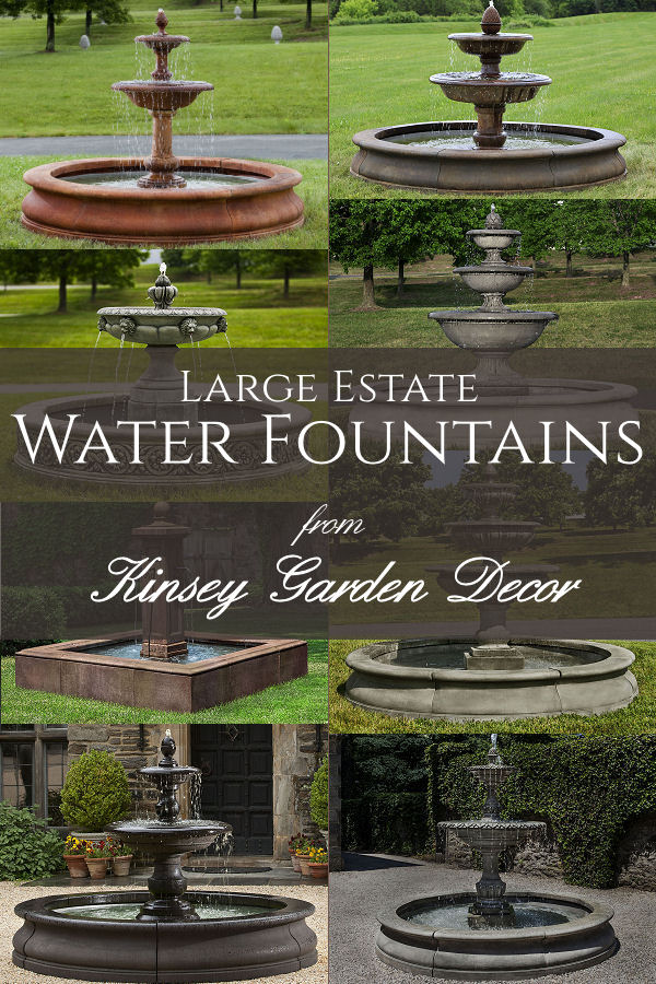 beaufort commercial extra large water fountain kinsey. Black Bedroom Furniture Sets. Home Design Ideas