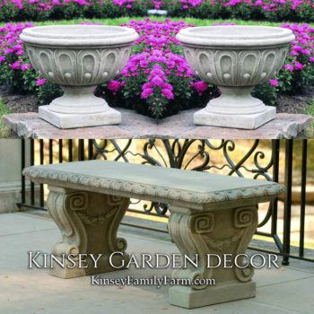 Kinsey Garden Decor Longwood Fluted patio set
