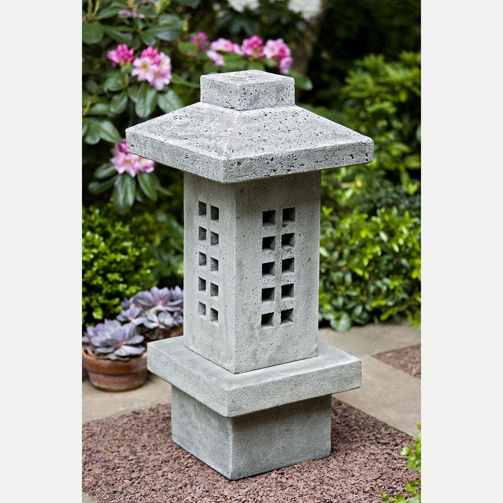 Naka Large Japanese Tall Pagoda Lantern | Kinsey Garden Decor
