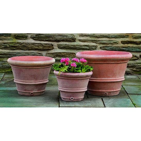 Rolled Rim Terra Cotta Plant Pots