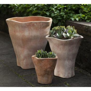 Fox Glove Planters Tall Terra Cotta Herb Flower Pots