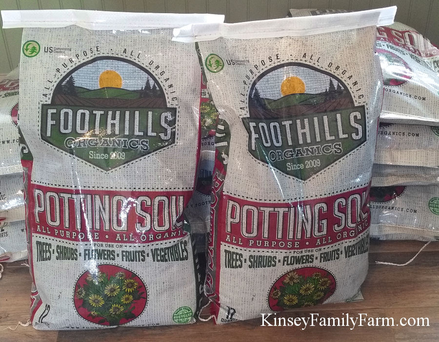 Potting Soil Kinsey Family Farm
